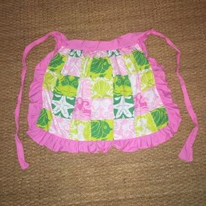 Vintage Lilly Pulitzer Apron Skirt